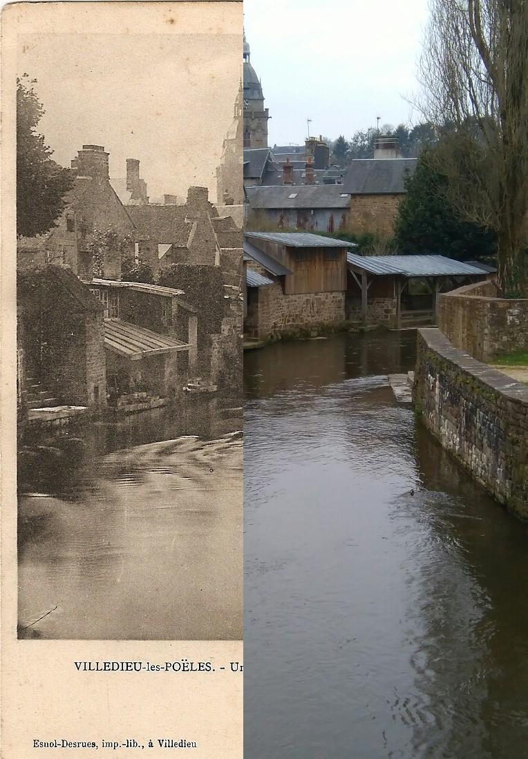 Villedieu-les-Poêles - Un joli coin sur la rivière La Sienne